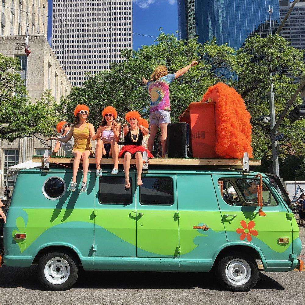 The 31st Annual Art Car Parade, Saturday, April 14, 11am