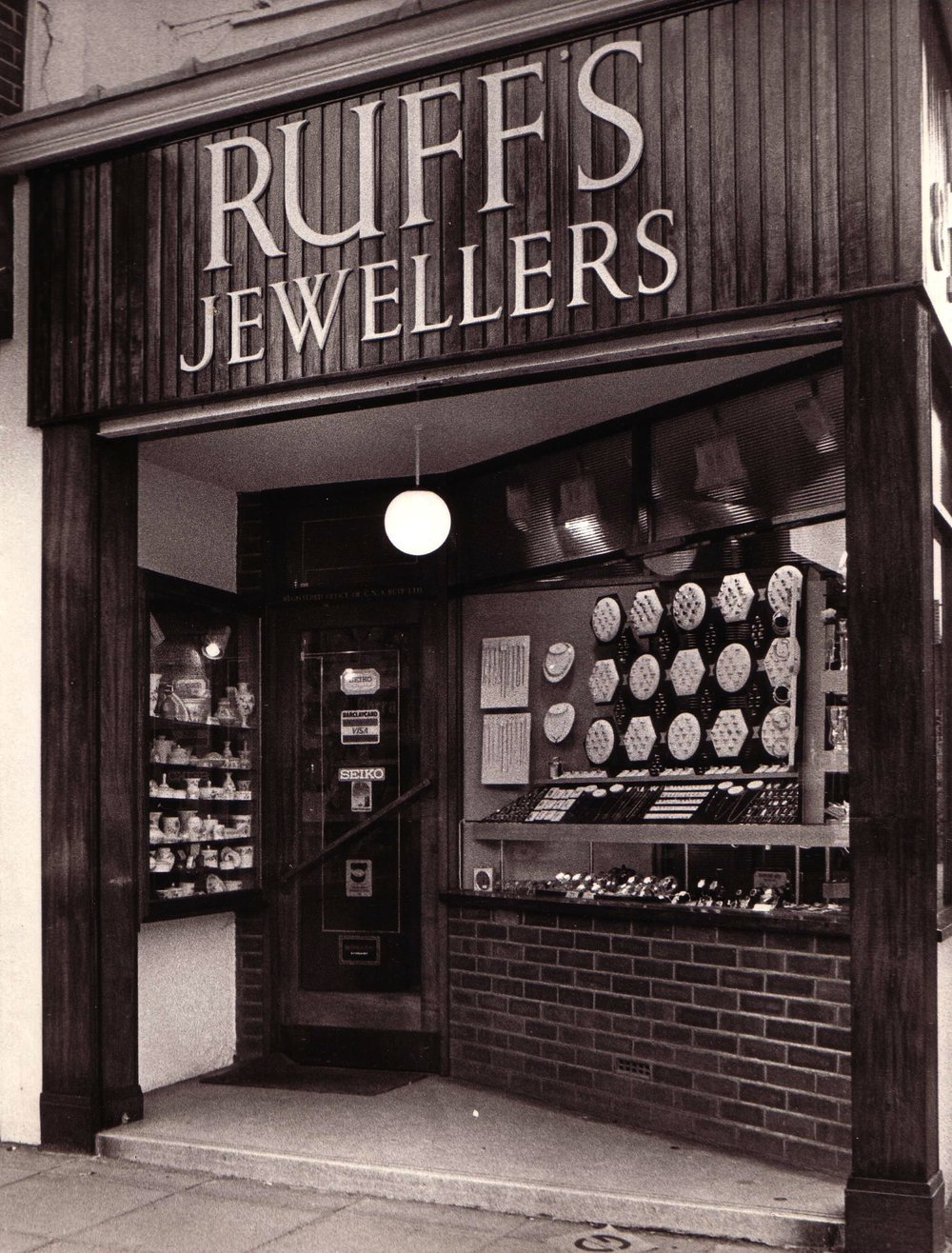 Ruffs Shop High Street 1959-1992.JPG
