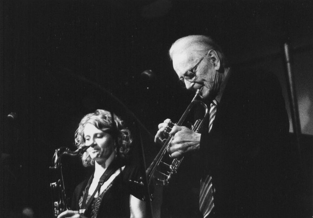 with Humphrey Lyttelton