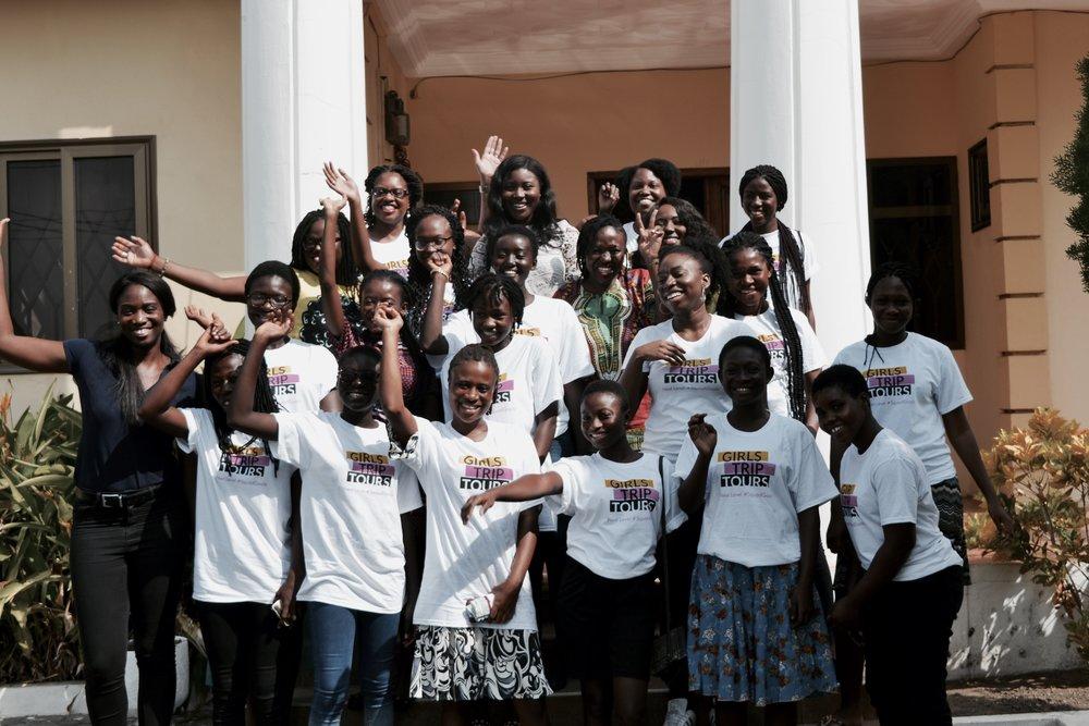 inaugural girls map Cohort - Soronko Academy, Accra, GhanaJuly 2018