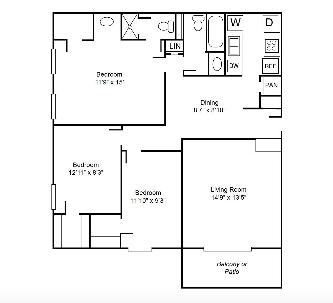 Apartments In Lubbock: Boulders At Lakeridge Apartments