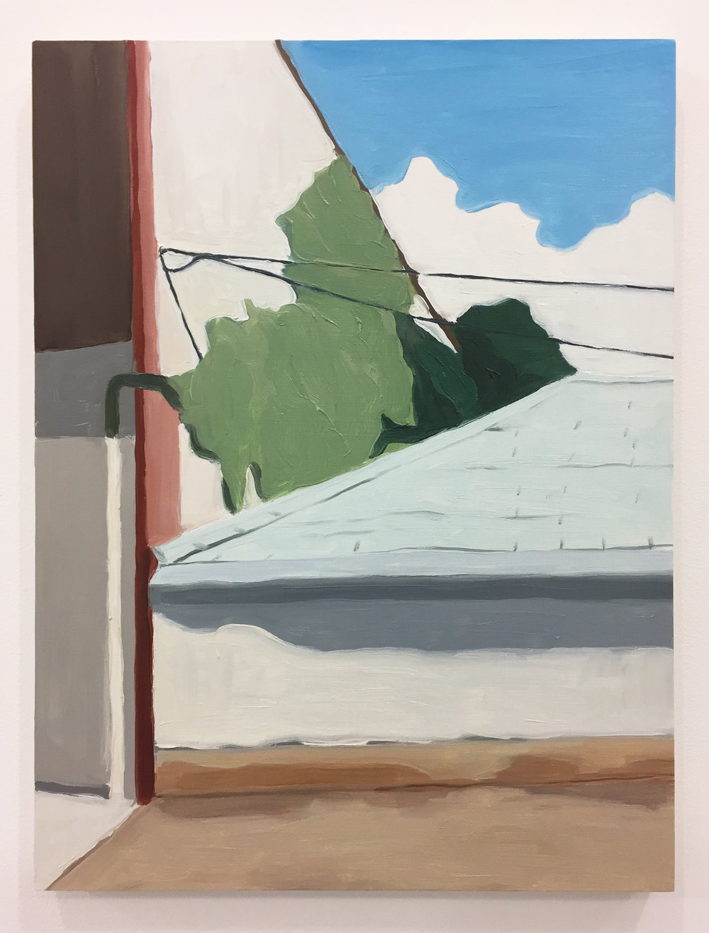 oil on woodpanel  410 × 305 mm (about 16 × 12 inch)   2017