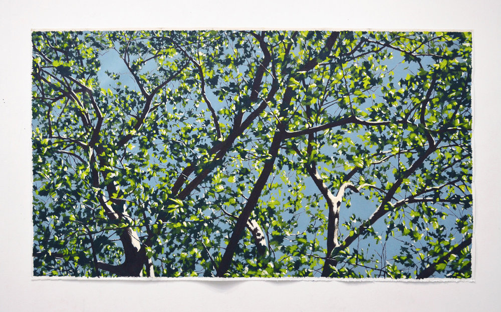 oil on canvas  2,300 × 1,550 mm (about 90 × 61 inch)  2017