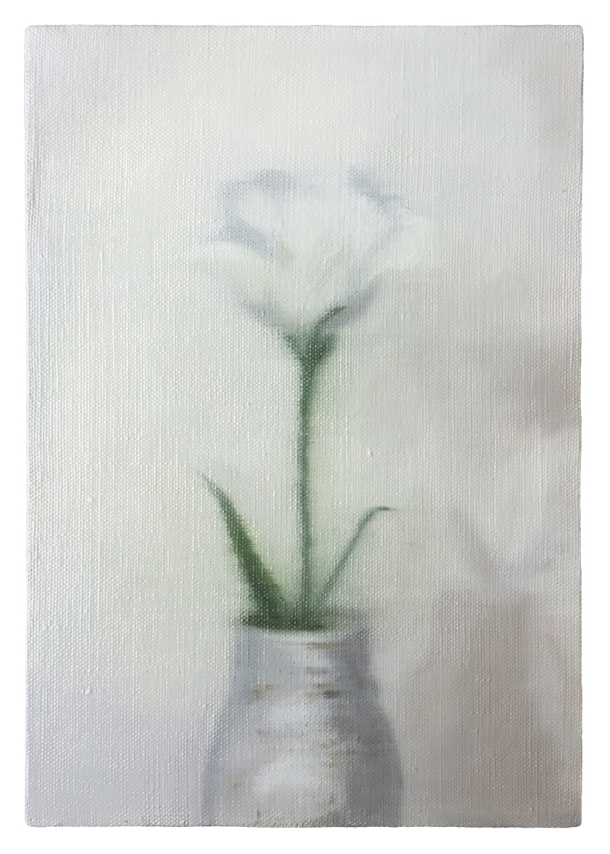 oil on canvas  273 × 190 mm (about 11 × 7.5 inch)  2019