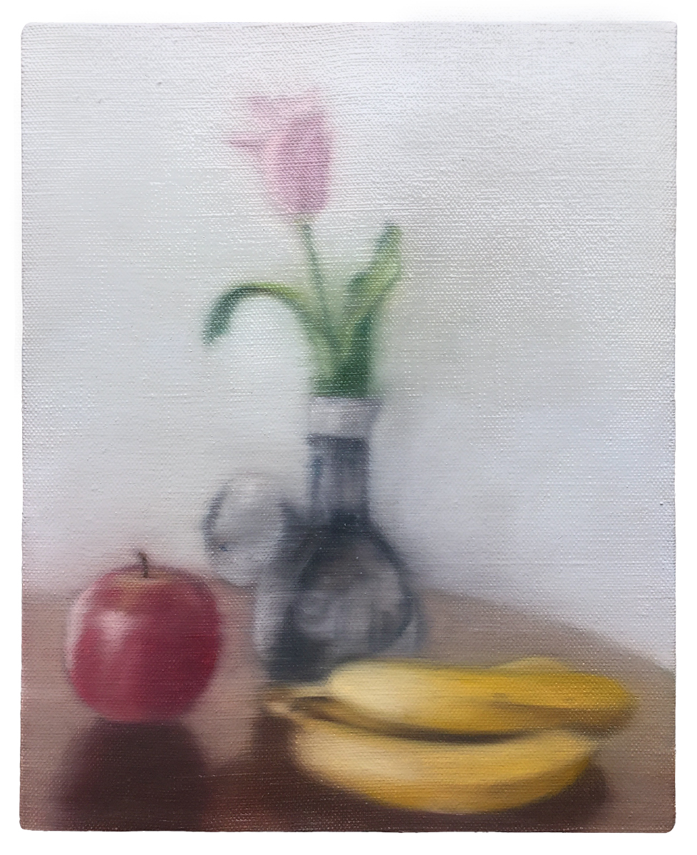 oil on canvas  273 × 220 mm (about 11 × 7 inch)  2019