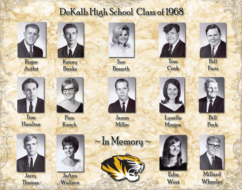Reunion Memorial Page