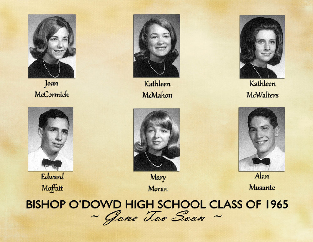 Memorial Page with Larger Yearbook Photos