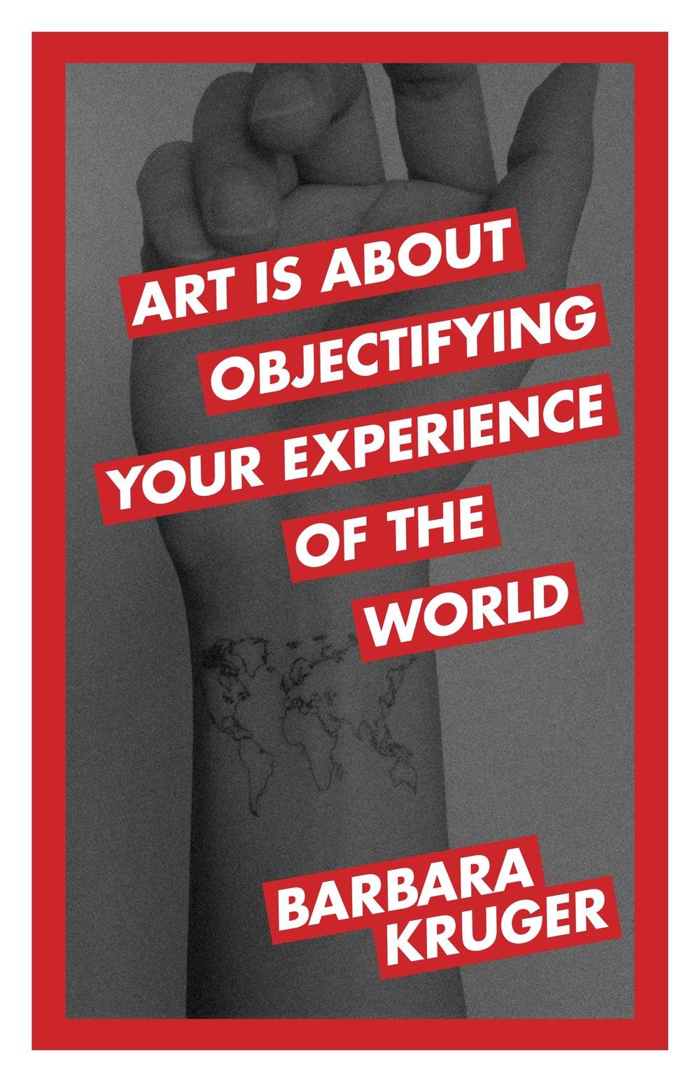 "Barbara Kruger (digital, 11x17"")"