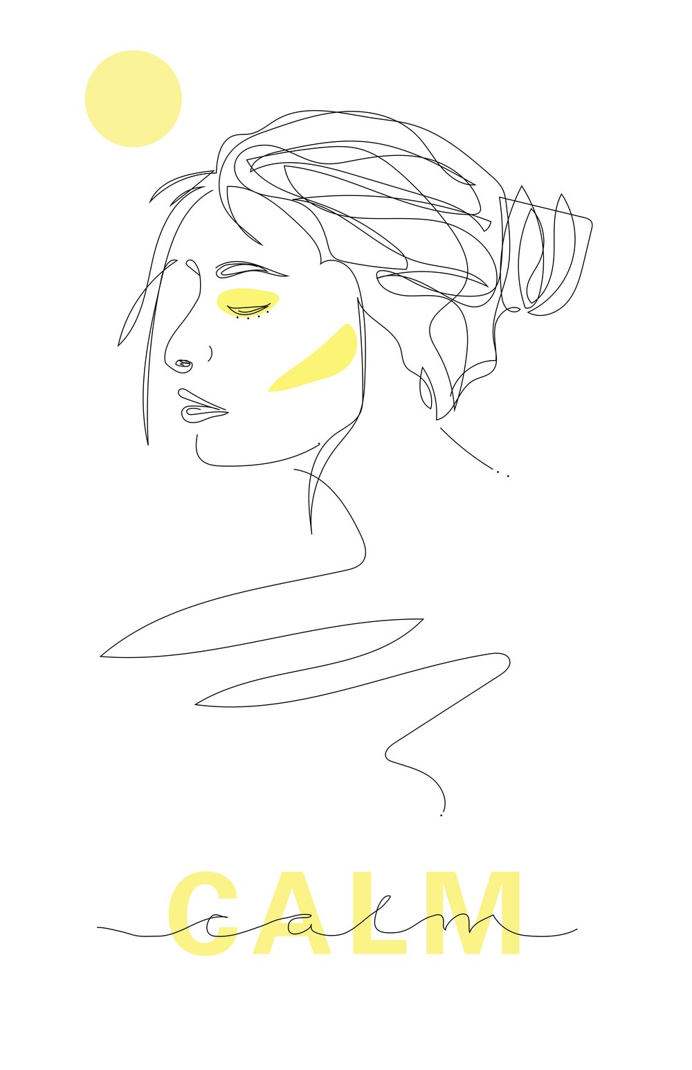 Calm (Digital, 11x17)