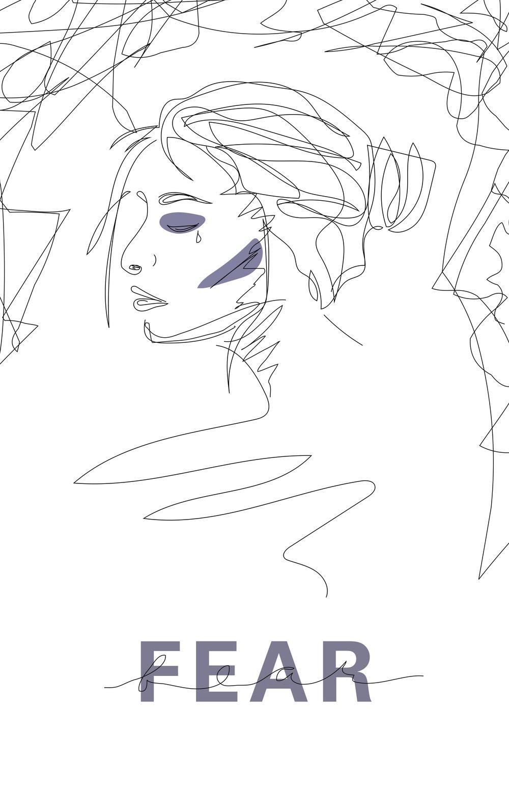 Fear (Digital, 11x17)
