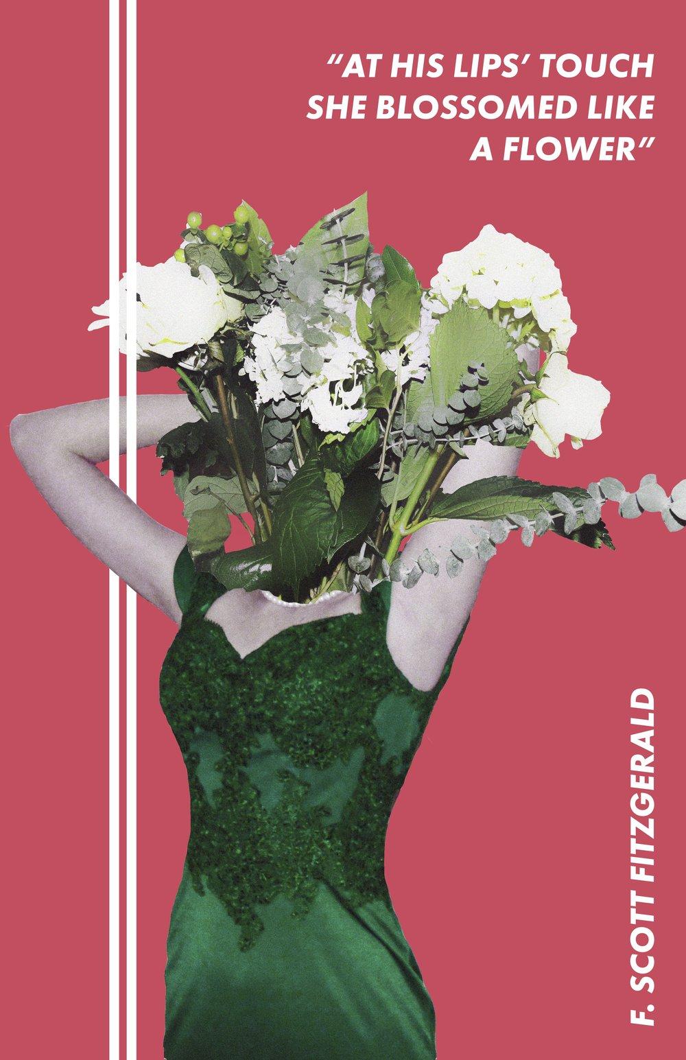 Blossom (Collage/Digital, 11x17)
