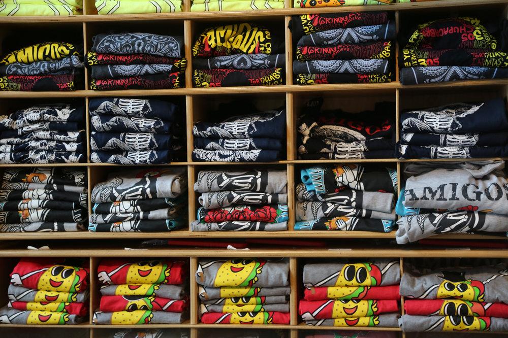 - T-shirts!