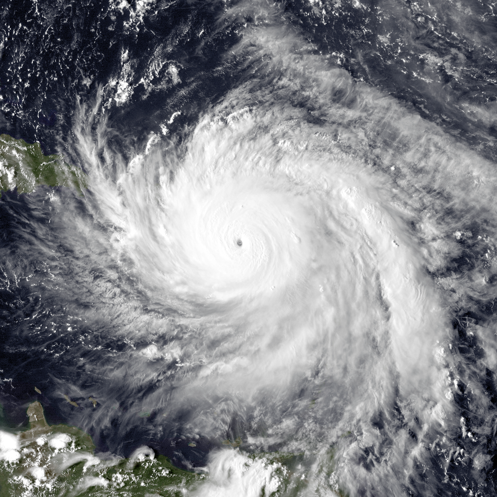 Hurricane Maria  By The Naval Research Laboratory/ NOAA
