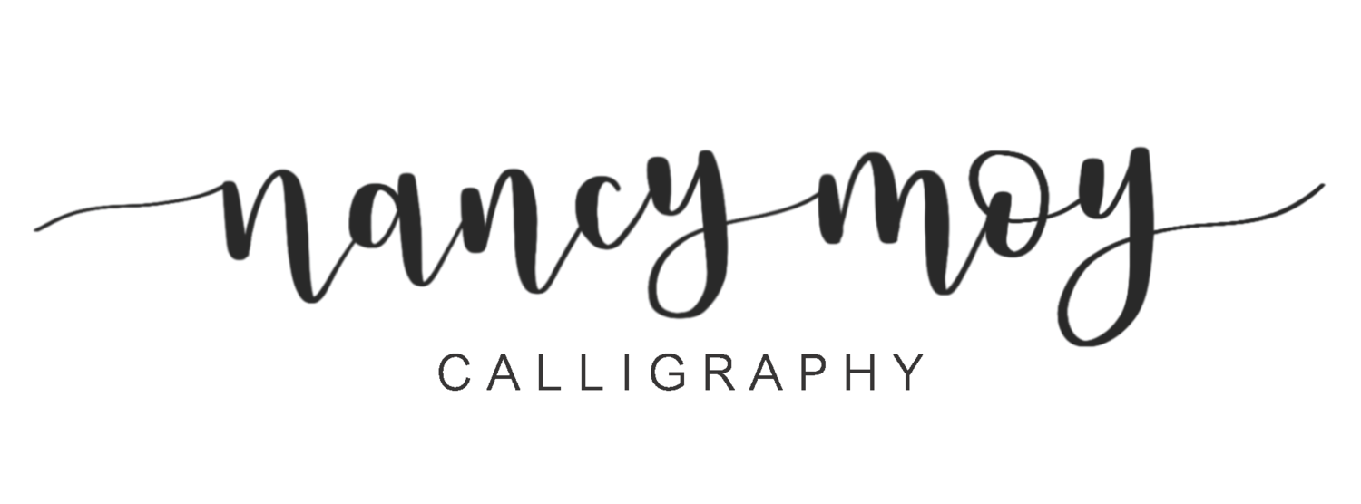 Nancy Moy Calligraphy
