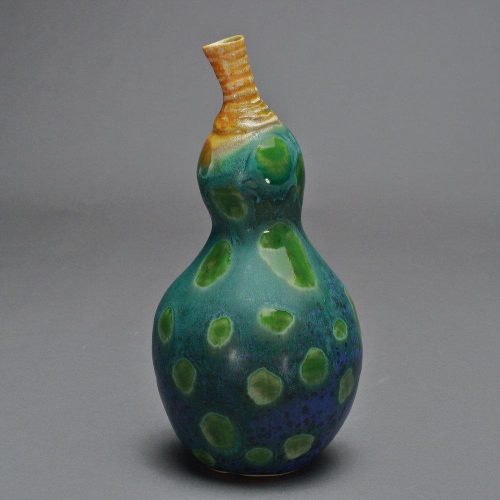 FV-10 | Spotted Dark Green Gourd ($75)