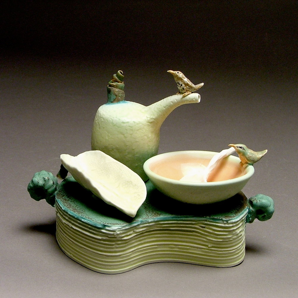 TS-16 | Condiment Table Set with Thrush and Robin ($500)