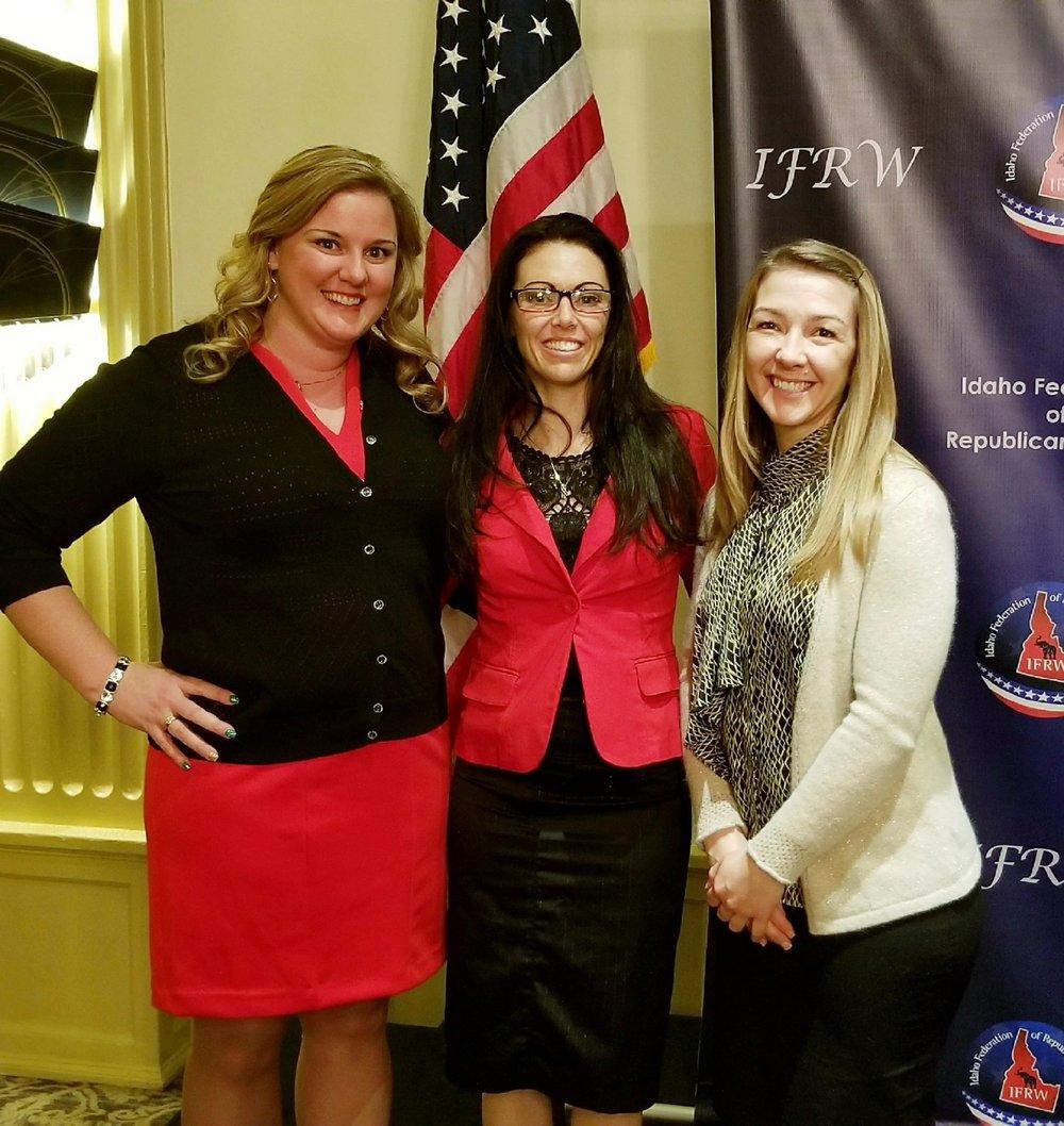 Pictured: Theresa Musick, Niki O'Neal, Rachel Lewis