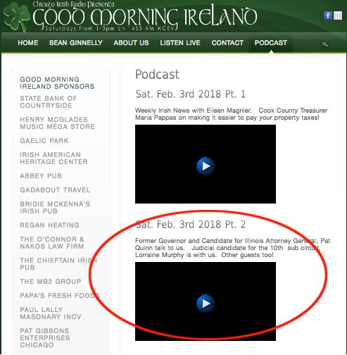 Good Morning Ireland Radio • Podcast • Sat, Feb 3rd, 2018 Pt. 2