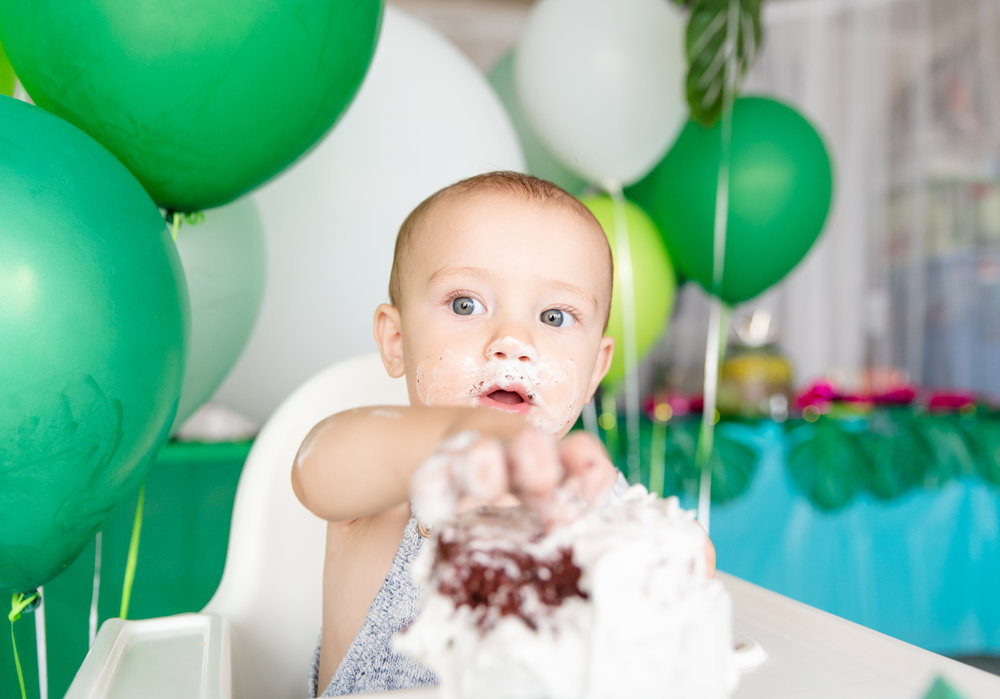 Adam turns ONE, Decor By  Boho Blush