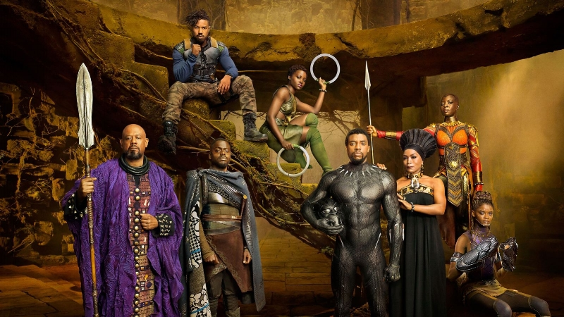 Black Panther  Cast | Image via  Marvel Studios