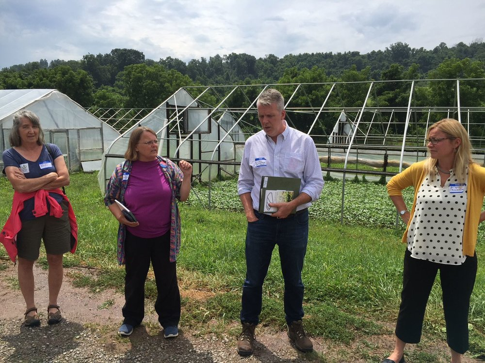 Sierra Club takes Dem candidates on environmental tour of sites in Athens County - Group says GOP candidates invited but didn't respond