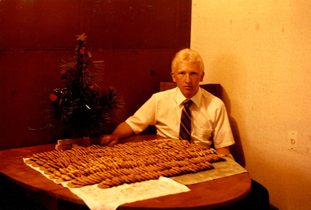 December 1980 - 360 Cookies made and given out to people in Waitara.jpg