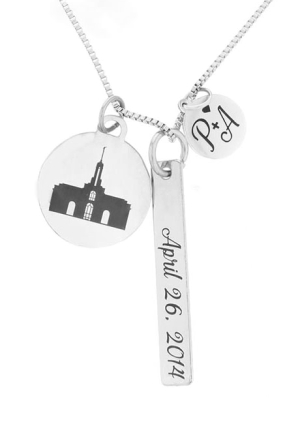 For Eternity Temple Charm Necklace