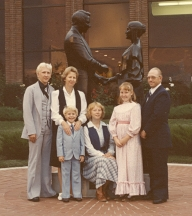 1979 - Marvin and Carma Golding family - Nauvoo
