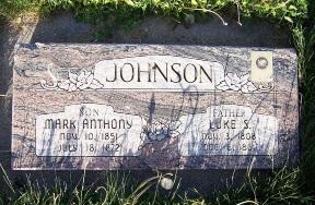 Luke S. Johnson gravestone.jpg
