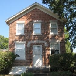 Aaron Johnson Home - Water Street, Nauvoo, Illinois