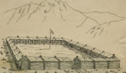 Fort at Springville, Utah