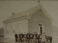 Hebron, Utah Church 1888