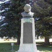 Charles C. Rich Monument in Paris Idaho