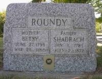 Shadrach Roundy gravestone.jpg