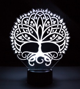 Illuminated Desk Lights -22 different designs - Click Here!