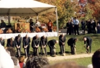October 24, 1999 - Nauvoo Temple Groundbreaking cropped small.jpg