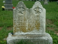 Elizabeth and Marie share a gravestone in Southwest City, Missouri