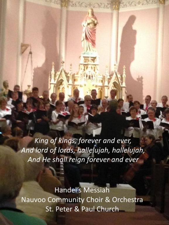 Handel's Messiah (Hallelujah Chorus)    Click Here!
