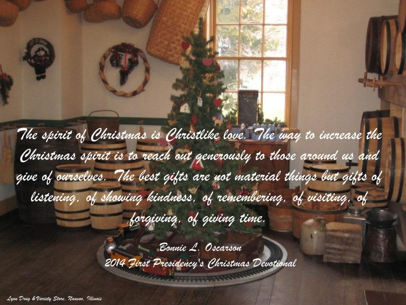 Best Christmas Devotional Ever.Spirit Of Christmas Latter Day Light