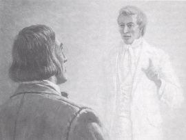 Joseph Smith visits Brigham Young by Clark Kelley Price.jpg