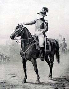 Joseph Smith Nauvoo Legion on horseback.jpg