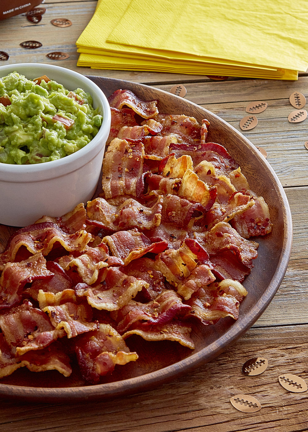 Lower angle of fresh guacamole with bacon %22chips%22V1 copy copy.jpg