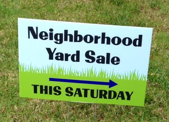 Community Yard Sale