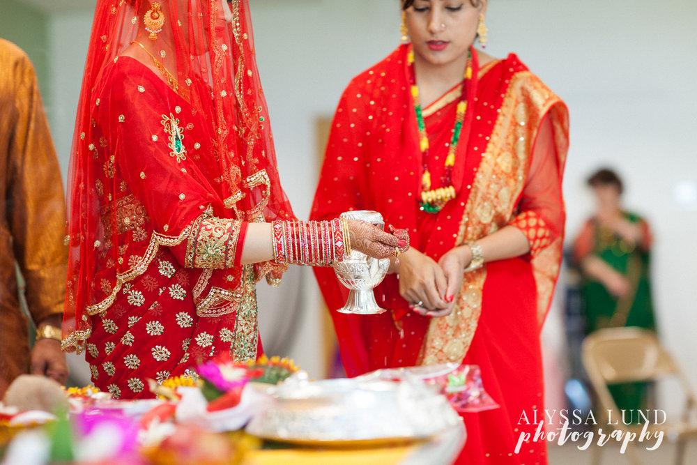 Minneapolis Hindu Engagement Ceremony