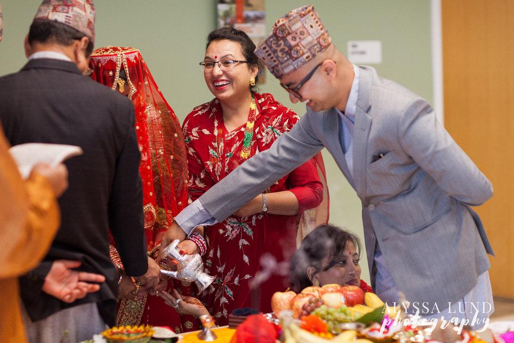 Minneapolis Hindu Wedding Ceremony