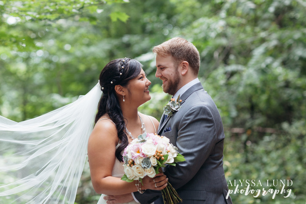 outdoor wedding at Edgewood Farm