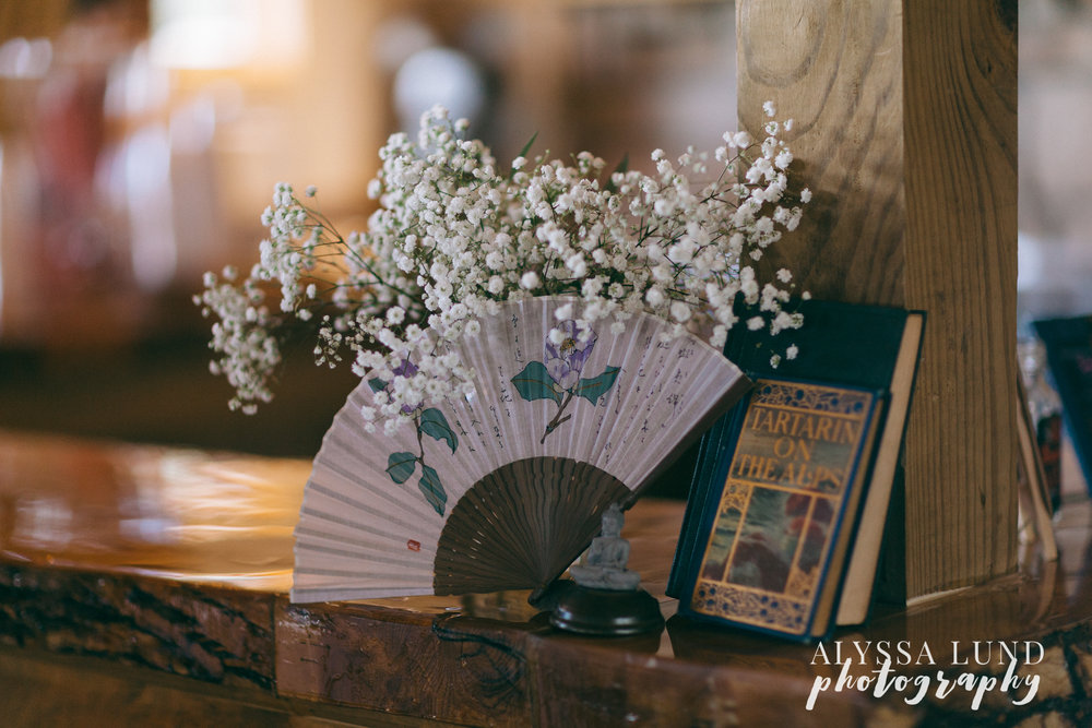 Reception Decor at Edgewood Farm Wedding