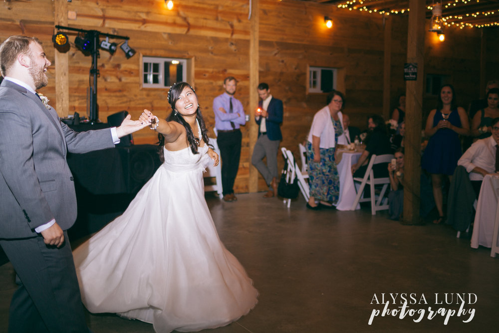 Happy First Dance Wedding Photography