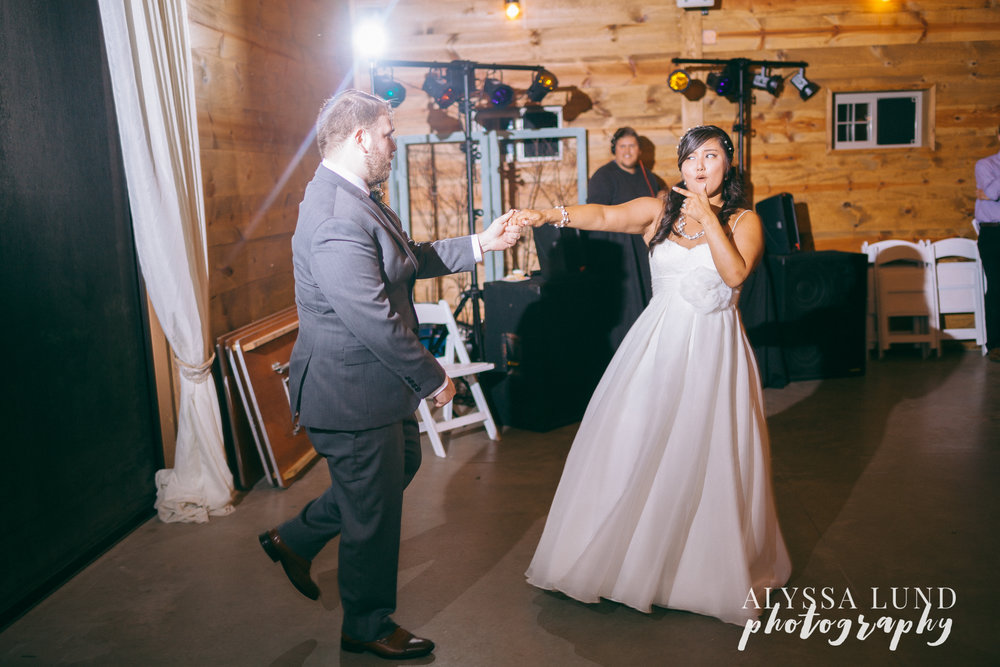 Epic First Dance Wedding Photography