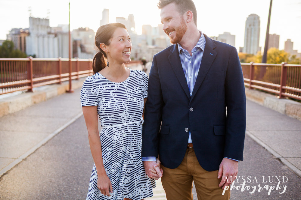outdoor Minneapolis wedding photography